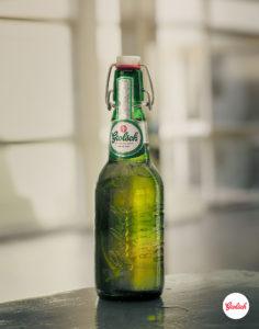 Sam Wright Grolsch Estefi Bottle Logo